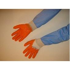 Перчатки латекс полуоблив с нарукавниками размер 11